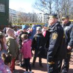 Spotkanie ze strażnikami miejskimi.i