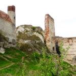 Ruiny zamku.