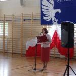 P. Hanna Gajewska wita zaproszonych gości.