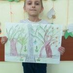 Uczeń prezentuje wykonaną pracę.