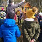 stawiamy karmnik na terenie szkoły