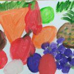 Prace uczniów - Warzywa i owoce.