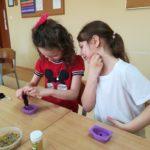 klasa 1 robi mydełka