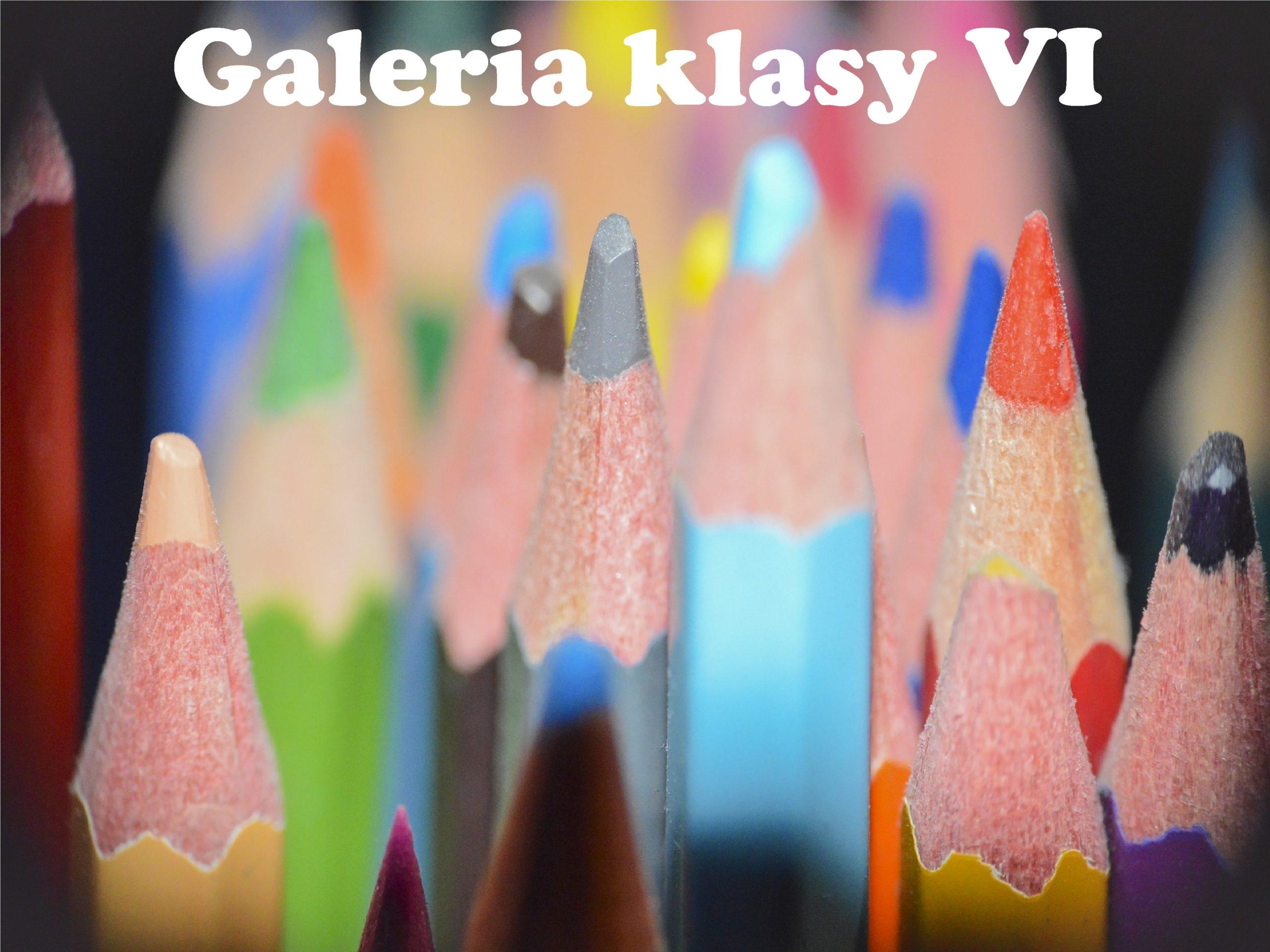 Logo galerii klasy VI.