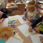 prace plastyczne - kolor żółty